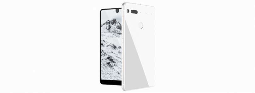 You probably shouldn't sideload Essential Phone updates with the included cable