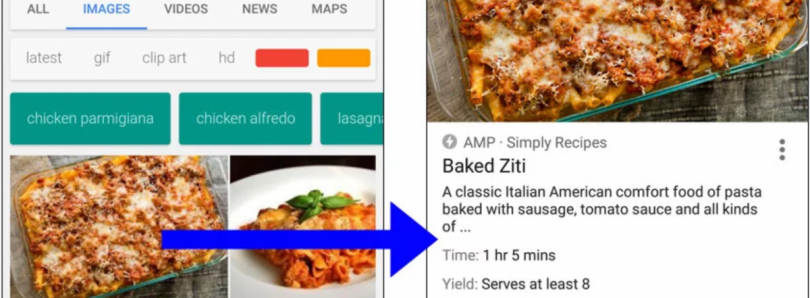Google Embeds Videos and Recipes into Google Image Search Results