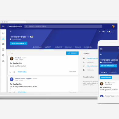 [Update: Sunsetting] Google Hire is a New Recruiting Application for G Suite Customers