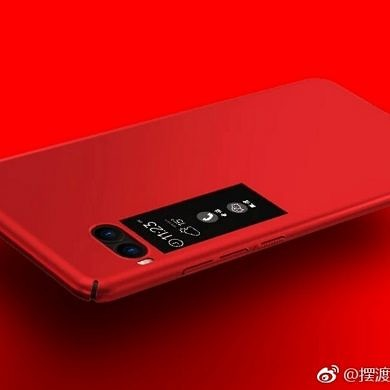 Meizu Pro 7 Live Image Leaks Point Towards a Secondary Color Display on the Back