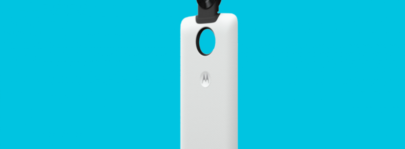 Motorola's Latest Moto Mod Features a 360-Degree Camera