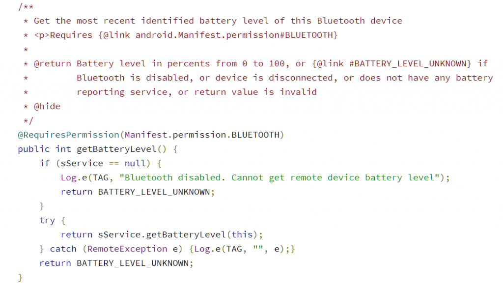 Bluetooth Battery Level Indicators Are Finally Coming To Android