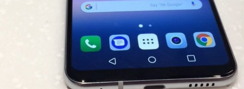 Live Photo of the Alleged LG V30 Reaffirms Previous Leaks