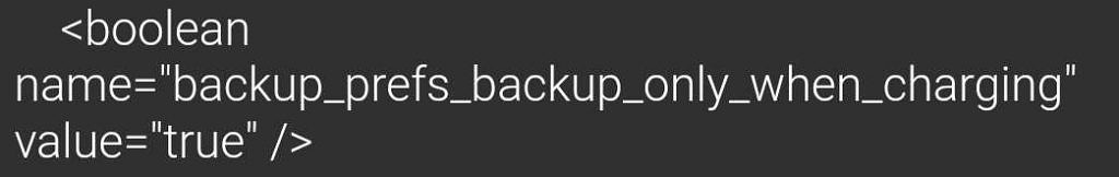 Google Photos Backup When Charging 2