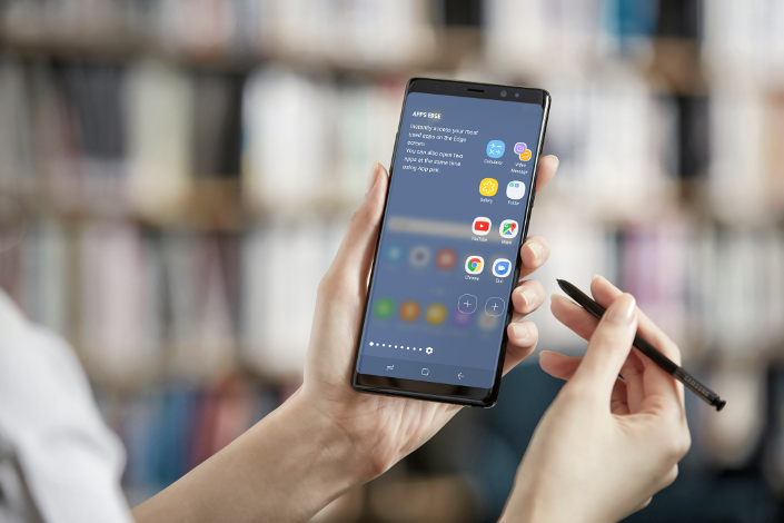 A Look At The Galaxy Note 8 S New Improved Software Features