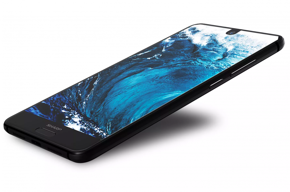 Aquos S2 by Sharp Announced, Resembles the Essential Phone