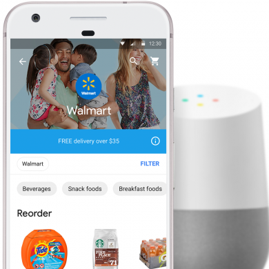 Walmart Partners with Google Express for Hands-Free Shopping