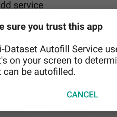 Password Managers using Android Oreo's Autofill API are Potentially Vulnerable to Data Leakage