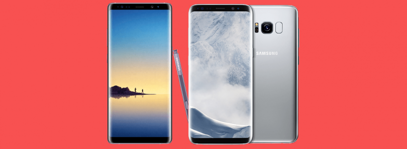 Samsung Experience Launcher adds home screen rotation to the Galaxy S8/Galaxy Note 8