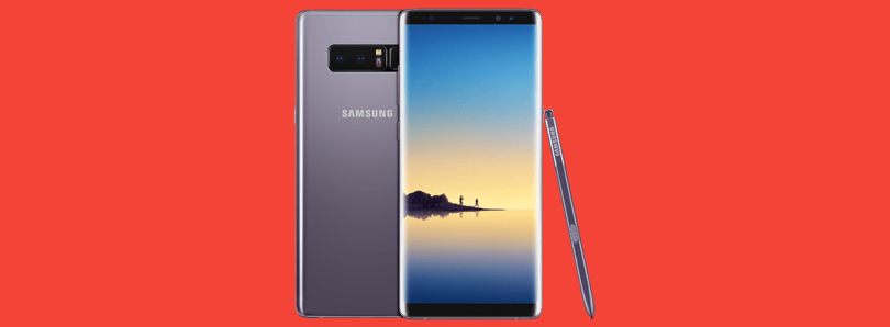 Samsung Galaxy Note 8 security updates dropped from monthly to quarterly release schedule