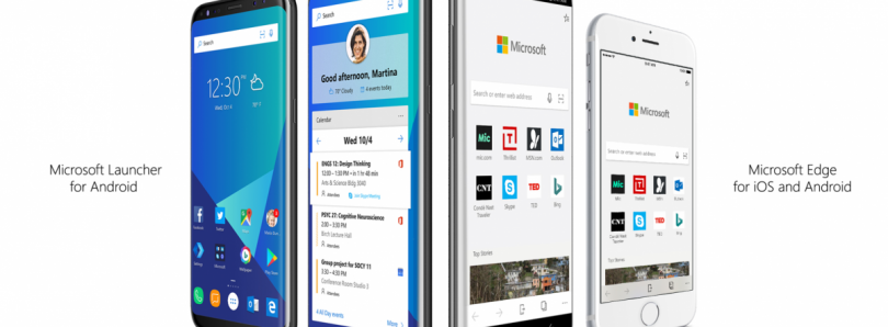 Android is Getting the Microsoft Edge Browser and Microsoft Launcher