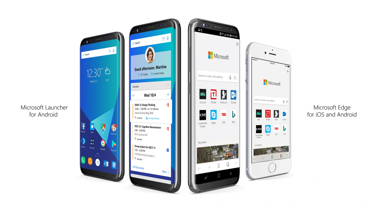 Microsoft Launcher and Edge for Android get new features