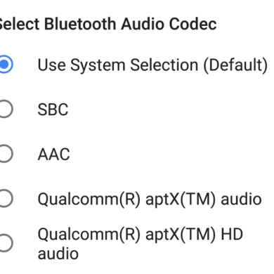 Google is Adding AAC Bluetooth Audio Codec for All Devices in AOSP