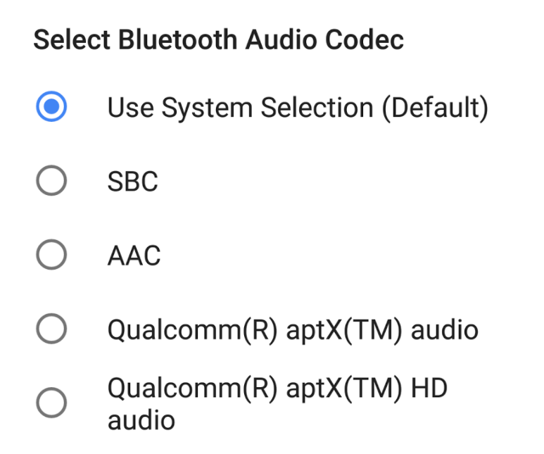 Google is Adding AAC Bluetooth Audio Codec for All Devices