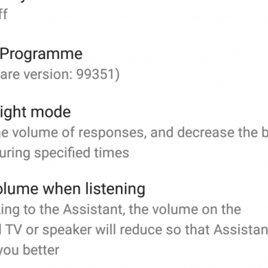 """Google Home Update Brings """"Night Mode"""" with Lower Volume and LED Brightness"""