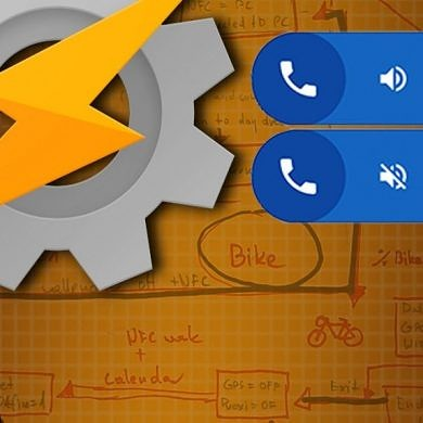 Replicate the Google Dialer's Floating Bubble Feature with Tasker and AutoTools