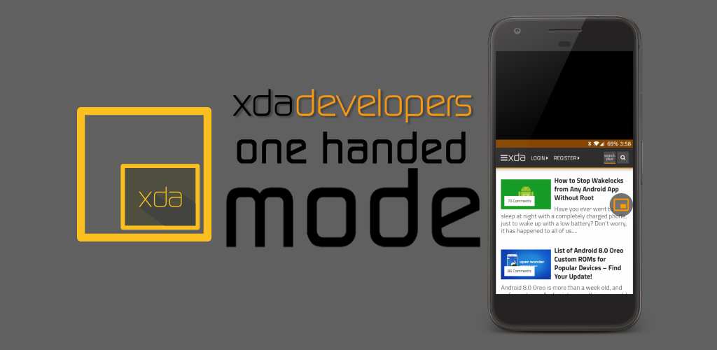 One Handed Mode App Updated With New Ways To Use Your Phone With One