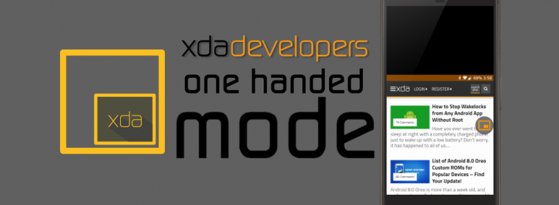 How to Install the One-Handed Mode Application by XDA-Developers