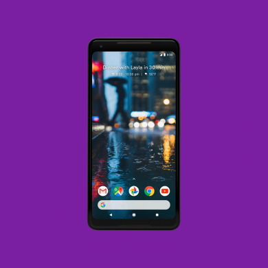 Google Pixel 2 XL Renders Show Stereo Speakers, Redesigned Pixel Launcher, and Slim Bezels