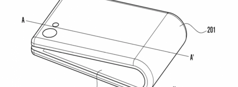 Samsung Files a Patent in Korea for a Foldable Phone Concept
