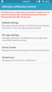 GravityBox Settings