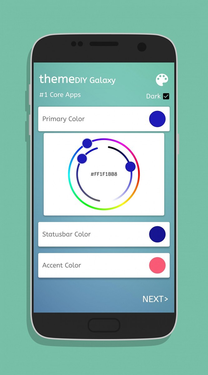 create personalized themes for your samsung device with themediy