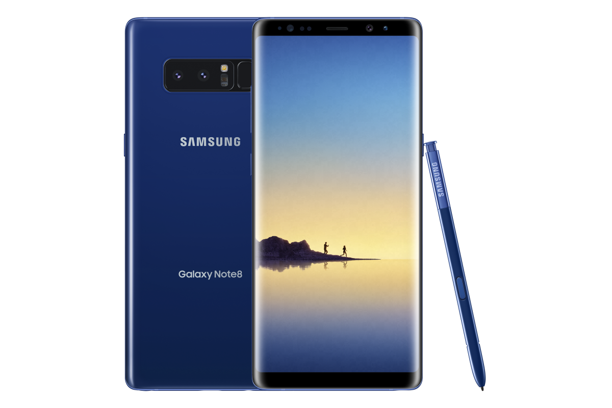 21d913cebde Deepsea Blue Galaxy Note 8 to be Available Exclusively at Best Buy and  Samsung.com