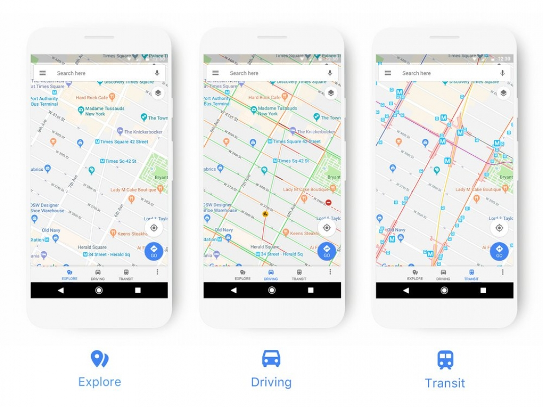 Google Maps Gets a Fresh Coat of Paint on voice control on phone, paying bills on phone, search on phone, google tracking map, google mail on phone, google hangouts on phone, google on iphone, movies on phone, google map features, calendar on phone, spotify on phone, qr code on phone, led flash on phone, blogger on phone, twitter on phone, blogging on phone, animation on phone, web on phone, wifi on phone,
