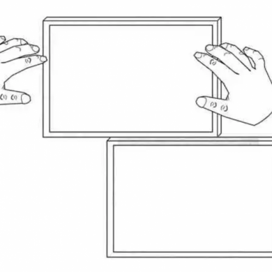 Google Patents Dual-Screen Convertible Laptop
