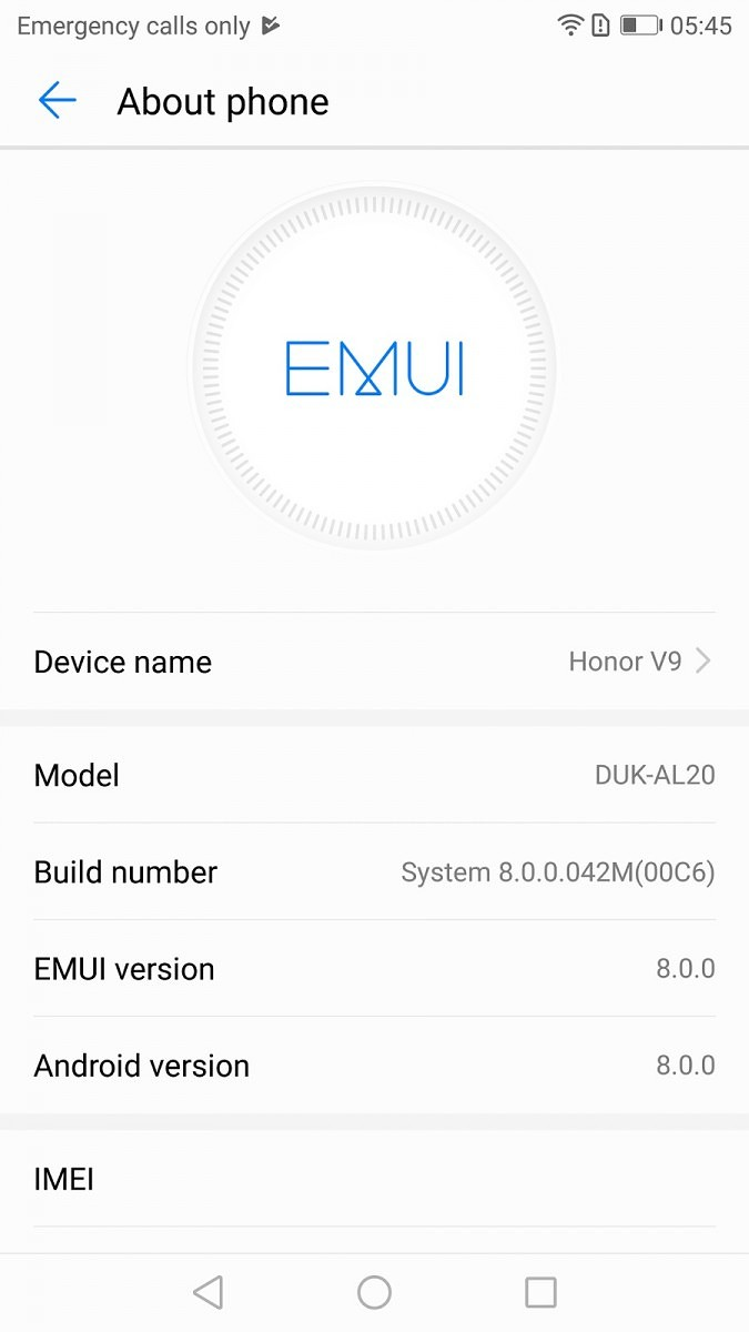 Honor 8 Pro Chinese Model Receives Android Oreo Beta with EMUI 8