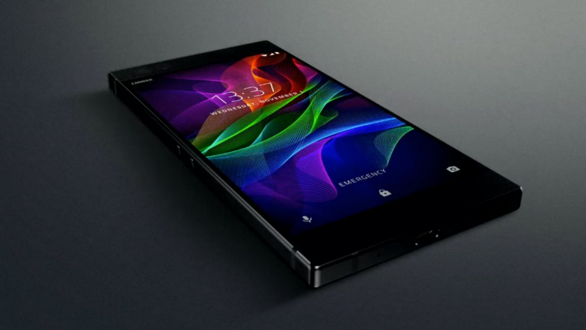 Razer Phone Announced: 120Hz Display, Snapdragon 835, 8GB RAM