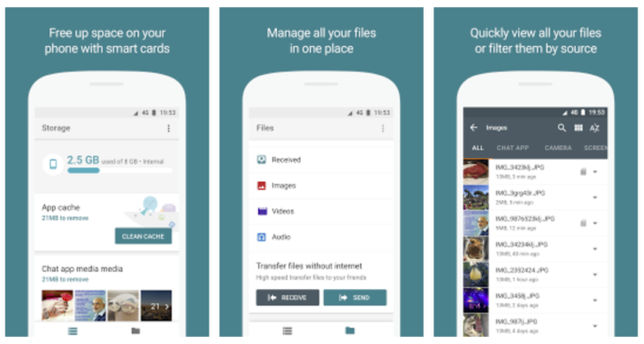 Google Files Go Smart File Manager has been Accidentally Leaked