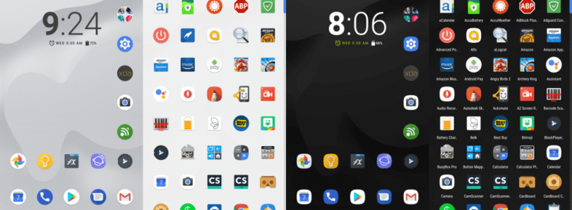 Modified Pixel Launcher adds Features to the Pixel 2 and Pixel 2 XL