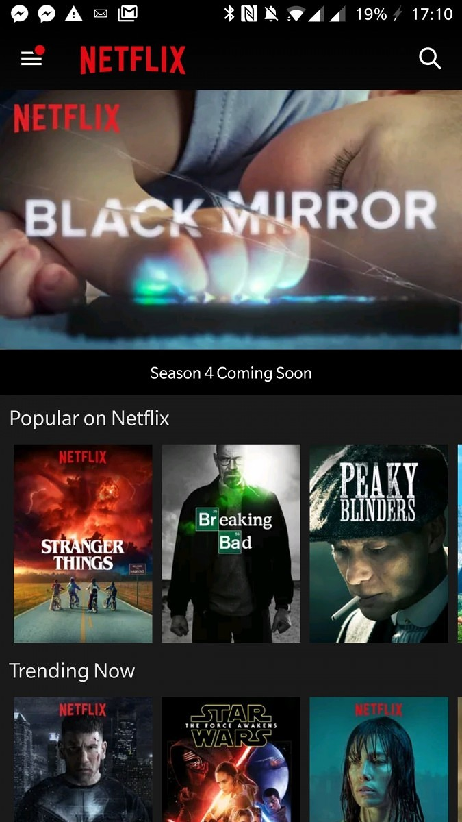 old netflix app for android