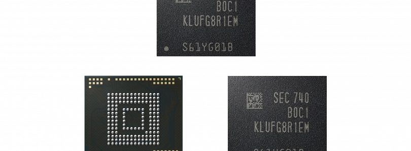 Samsung Starts Production of First 512GB UFS Package for Mobile Devices