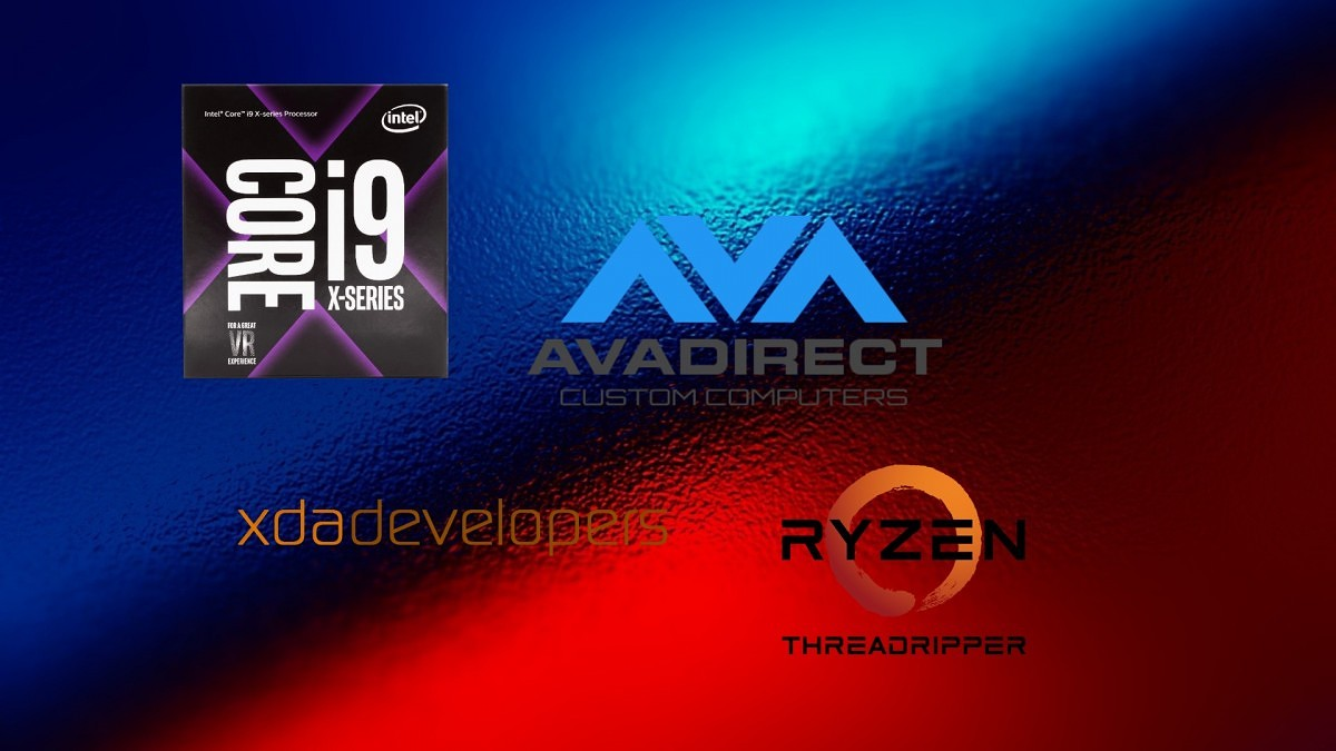 XDA PC Hardware Analysis : Intel Core X and AMD Threadripper