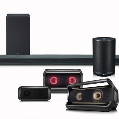 LG Announces Multiple Audio Devices for 2018, Including a Google Assistant-Enabled Speaker