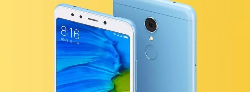 Xiaomi Redmi 5 and Redmi 5 Plus Sport 18:9 Displays, Start at $120 in China
