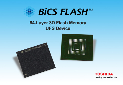 Toshiba UFS Devices 3D Flash