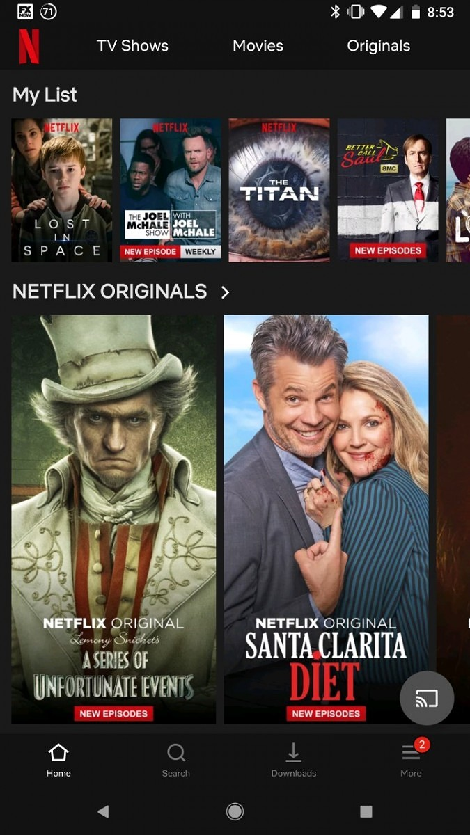 Netflix Appears to be Testing a User Interface on Android