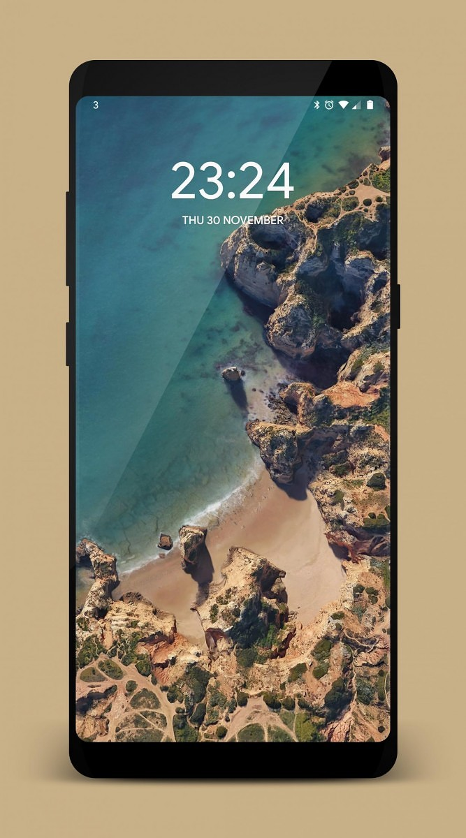 Check Out This Cool Transparent Theme for the Galaxy S8 and Note 8