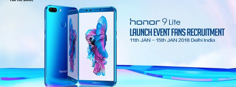 Win a Trip to Honor 9 Lite Launch Event in India
