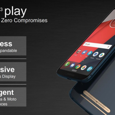 Exclusive: Moto Z3 Play Specs and Software Features Leaked – Moto Experiences, Cinemagraphs and More