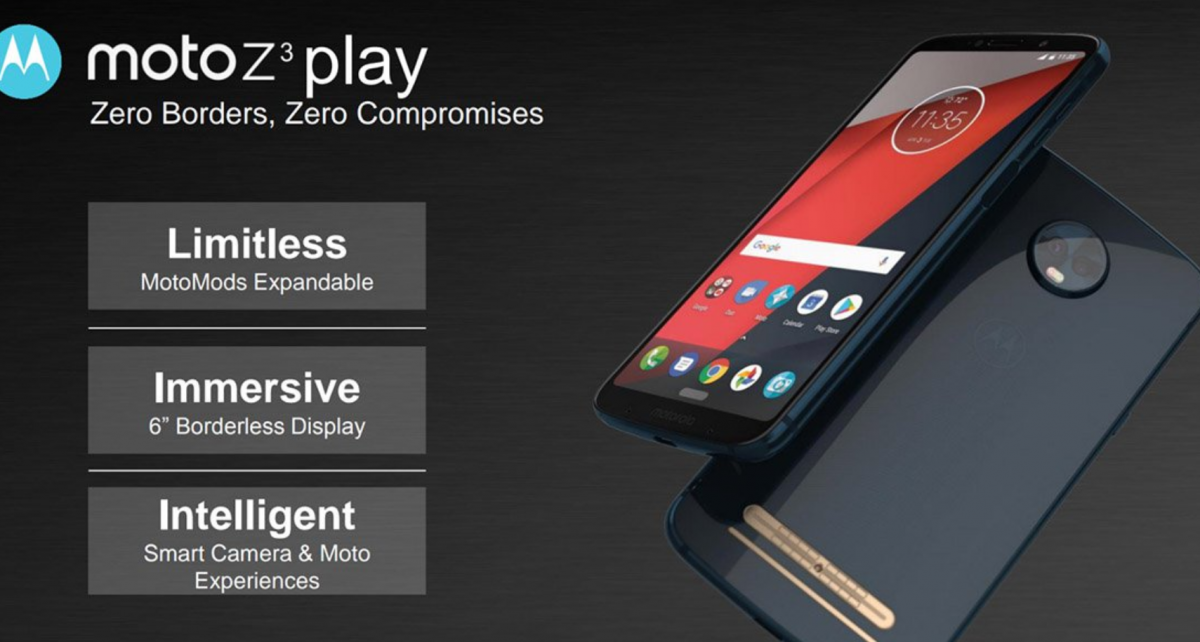 Exclusive: Moto Z3 Play Specs and Software Features Leaked