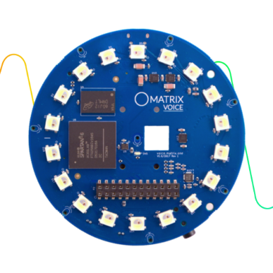Matrix Voice is a Raspberry Pi-like Board with Google Assistant and Amazon Alexa Support