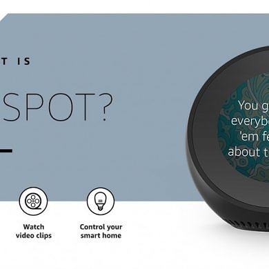 The Amazon Echo Spot is shipping to customers in the UK, Germany, and Austria