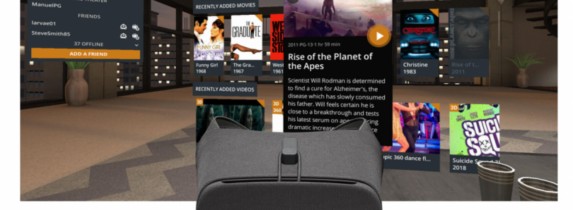 You can now watch your Plex library in VR through Google Daydream