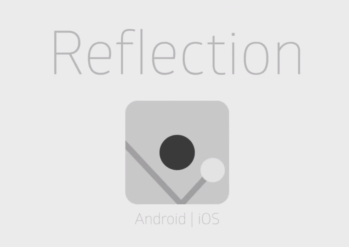 reflection is a free simple geometry based puzzle game