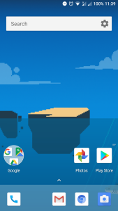 android one launcher google now feed