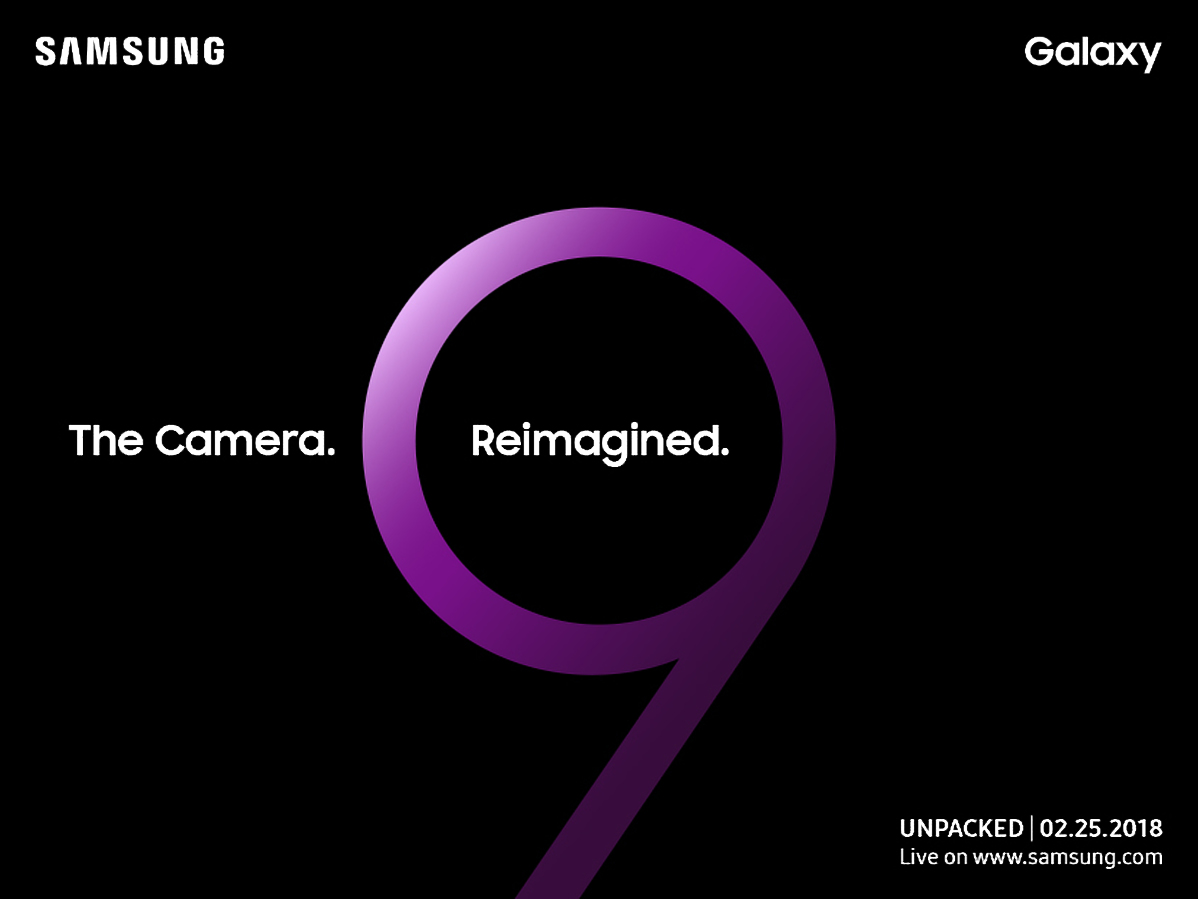 The Samsung Galaxy S9 Will Be Revealed On February 25 With An